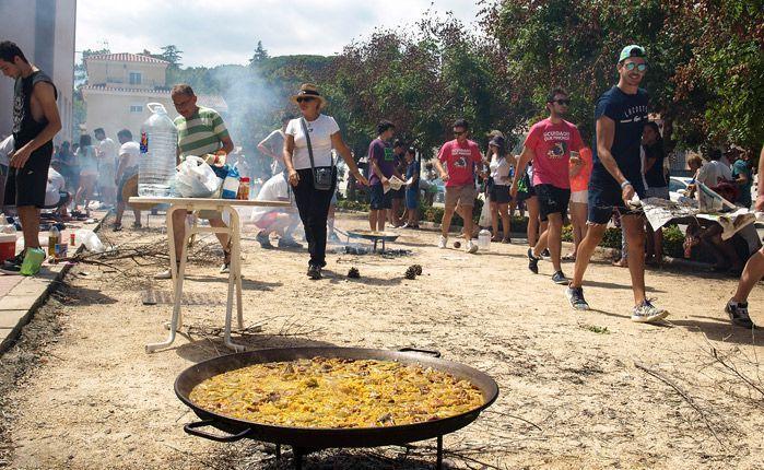 Concurso de paellas. Foto:J.Plasencia.