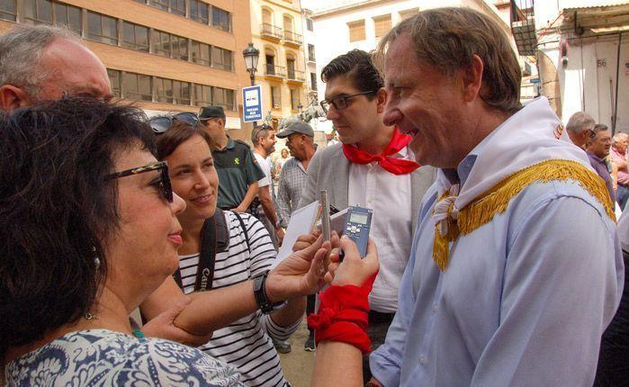 Declaraciones de Moragues. Foto:J.P.