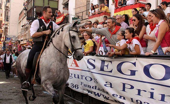 Reconocimiento de los caballistas. Foto:Ana Monleón.