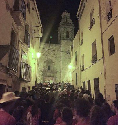 Las fiestas llenan las calles. Foto:Alejandro Ibáñez.