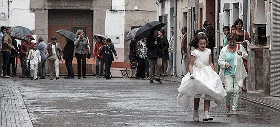 Novaliches supende la procesión por la lluvia