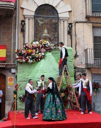 Retablo de la Virgen. Foto:A.M.