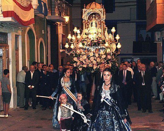 Navajas celebra la Virgen de la Luz,
