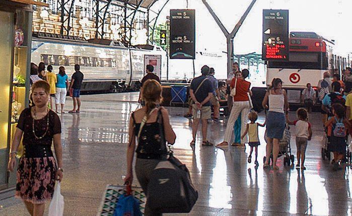 RENFE no podrá trenes para la Entrada