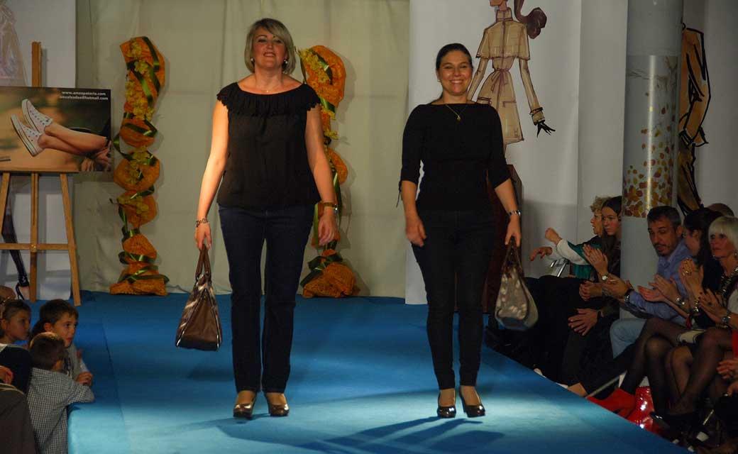 Desfile de zapatos. Foto:J.Plasencia.