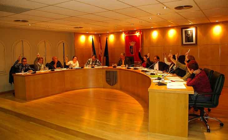 Votación unánime de la moción. Foto:J.P.