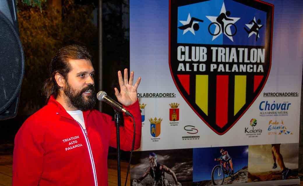 El club triatlón ensalza los valores. Foto: José Plasencia.