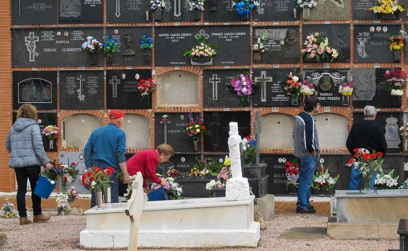 Cementerio municipal de Segorbe. Foto: J.Plasencia.