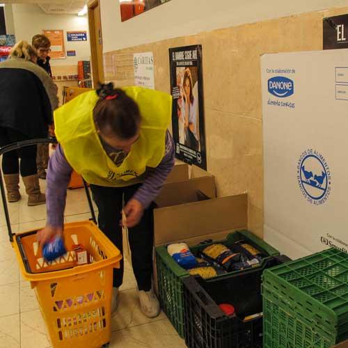 Caritas Segorbe recoge 6.500 k.de alimentos