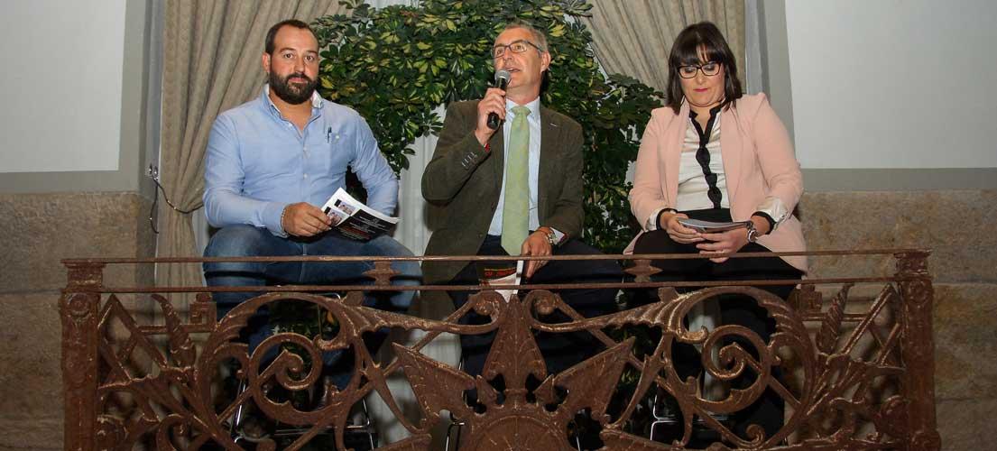 José Toledo, Javier Mazón y Marta García. Foto: J.P.