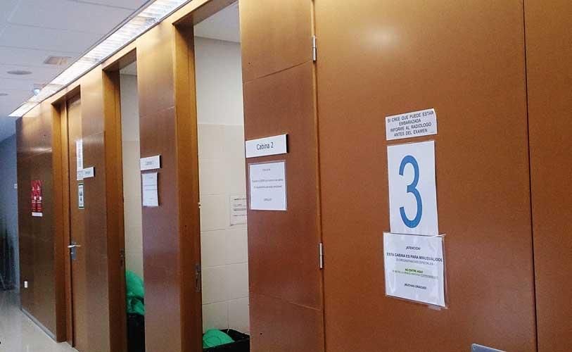 Boxes del Centro de Salud 2. Foto:J.P.
