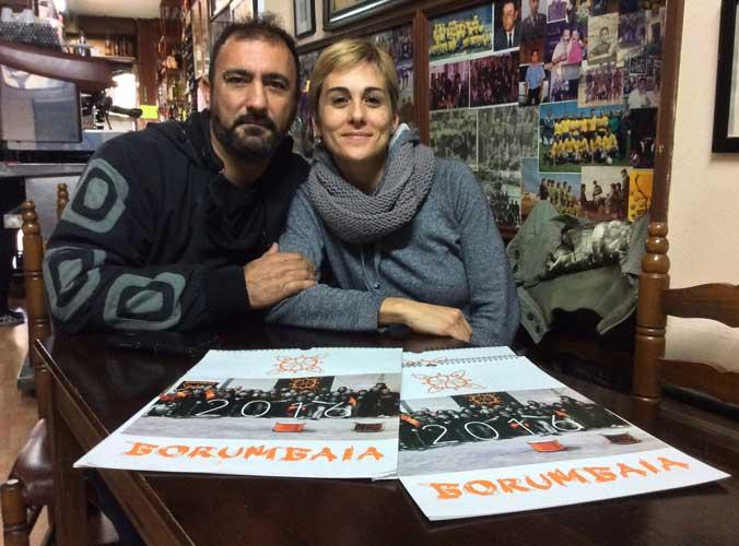 Borumbaia edita un calendario familiar