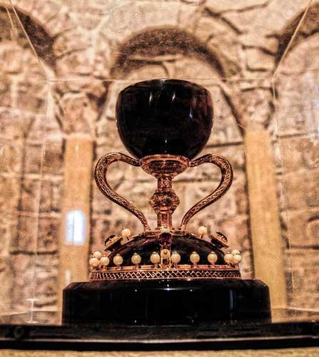 Santo Grial.Foto:J.P.