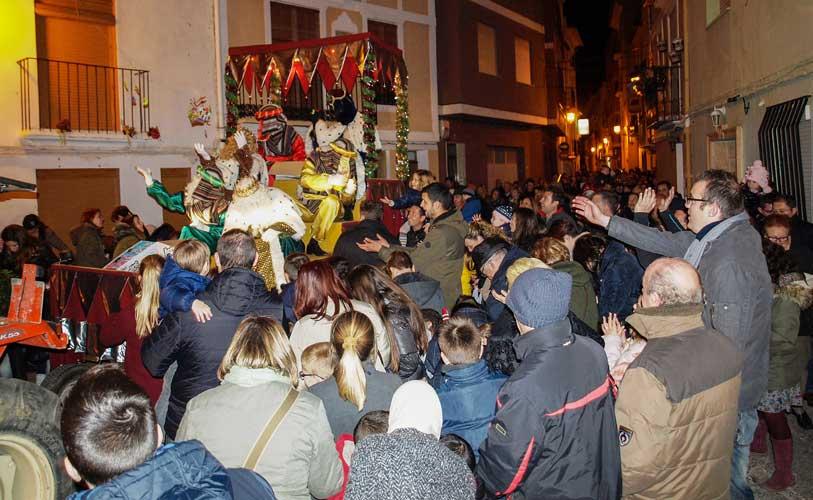 Cabalgata de Reyes en Navajas