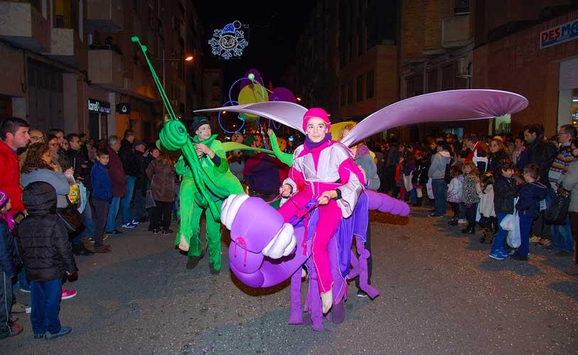 La Cabalgata de Reyes en Segorbe